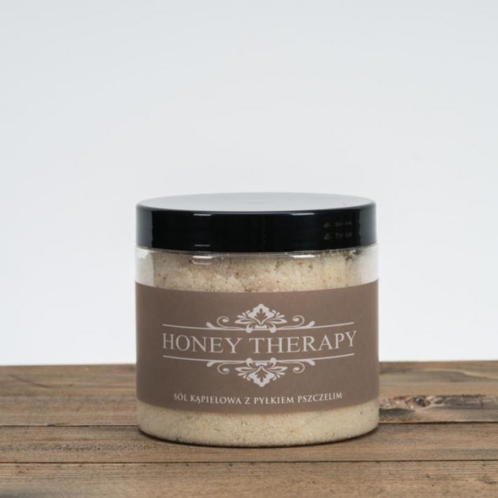 Sól kąpielowa z pyłkiem pszczelim i kolagenem