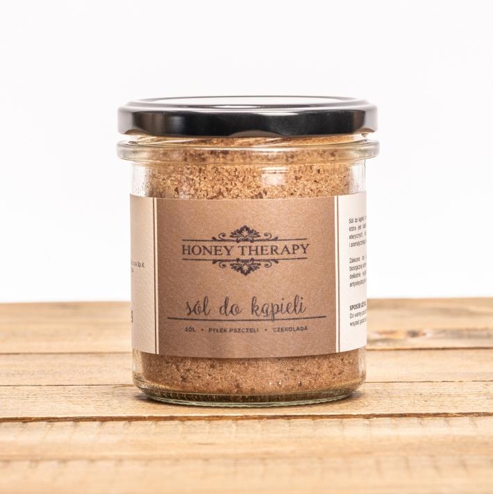 Sól kąpielowa z pyłkiem i kakao