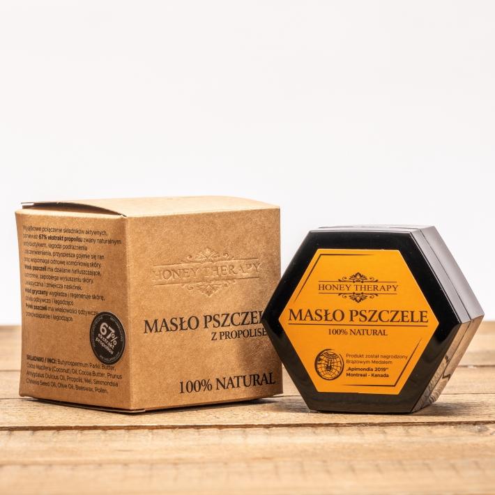 Masło pszczele z propolisem
